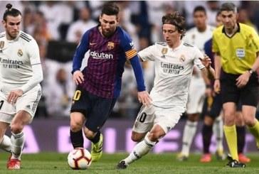 Definida la fecha para el primer clásico de La Liga entre Barcelona y Real Madrid