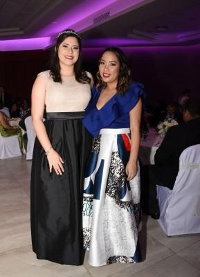 Carolina Sánchez y Nidia León