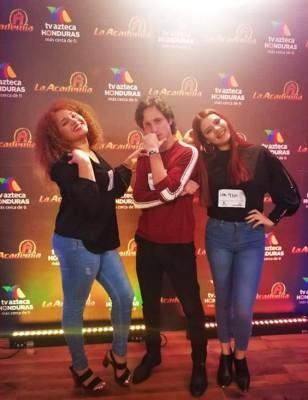 Cesia Sáenz, Jorge Alejandro Flores y Nefertity Zavala son los finalistas del casting de la Academia y que buscan ocupar un lugar en el riality de TV Azteca en Mexico