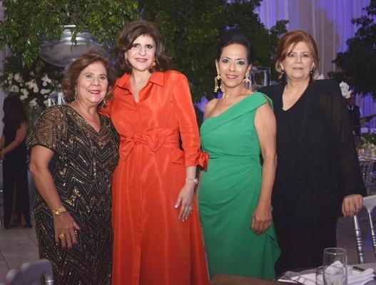 Cinthia Nasser, Jackie Kattán de Khoury, Lorette Kawas y Sobeyda Saybe.