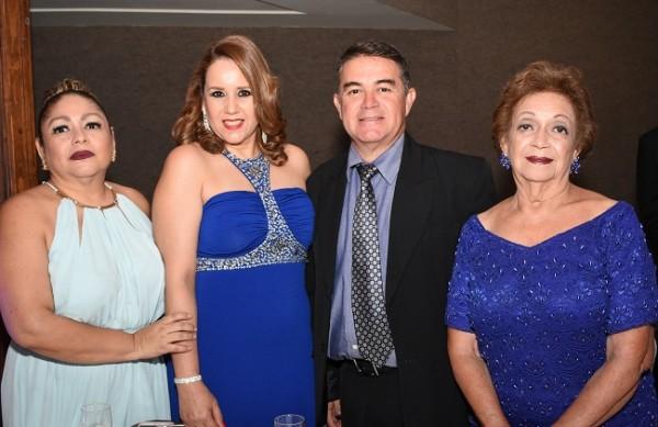 Claudia Bu, Marlen Flores, Osby Bu y Norma Sandres