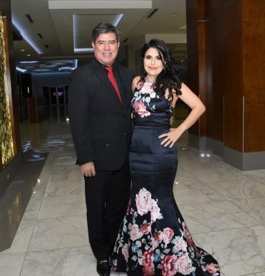 Claudia Jordán y su esposo, Sergio Jordán
