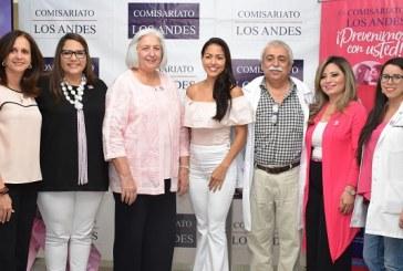 Comisariato Los Andes lanza campaña de prevención contra el cáncer de mama