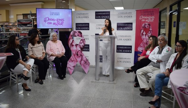 Comisariato Los Andes. cancer de mama