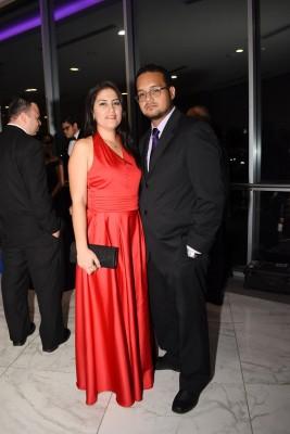 Diana Alvarado y Víctor Acosta