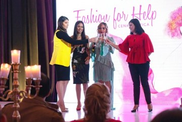Elegancia y glamour en el Fashion For Help 2019