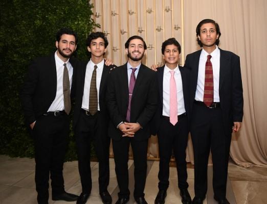 Farid Andonie, Fawzy y Feisal Andonie, Juan Diego y Juan Boadla