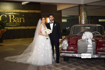 Giselle y Giancarlo: una boda de inspiración clásica silver