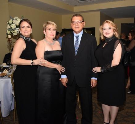 Karla Faraj, Gennie Kattan, Enrique Castro y Ana Becerra