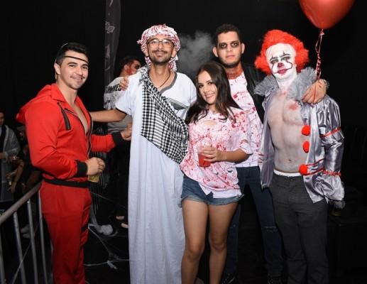 Keiton Sotomayor, Moises Reyes, Alejandra Toro, Ramón Zavala y Roberto Figueroa