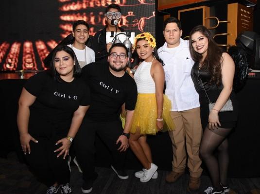 La juventud sampedrana disfrutó al 100 de la Halloween Open Bar Party de Hotel InterContinental