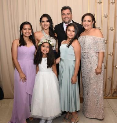 Las familias Ortez-Nazar y Farah-Nazar