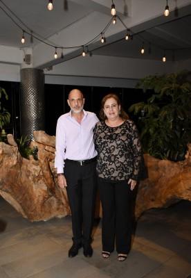 Los padres de la novia, Jhonny Segebre y Mayela Sandino