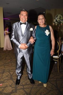 Los padres del novio, Adelina Mora y Jorge García