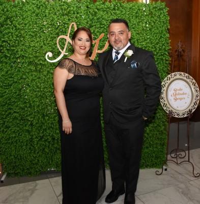 Los padrinos de boda, Yoshiaky Suguiyama y Marisol y Suguiyama