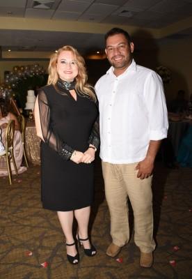 Los testigos de boda, Ana Becerra y John Pulido