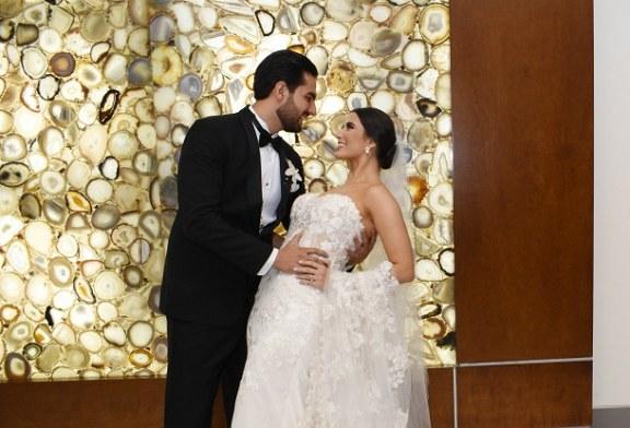 Melanie y Gamal: amor y exclusividad en una noche inolvidable