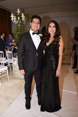 Michelle Fernández y Manuel Rocha