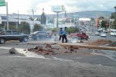 Policía disuelve protestas de pequeños grupos que exigen la salida del presidente Hernández