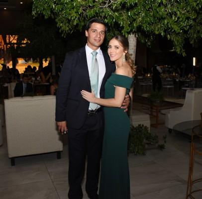 Ramón Medina y Erika Andonie