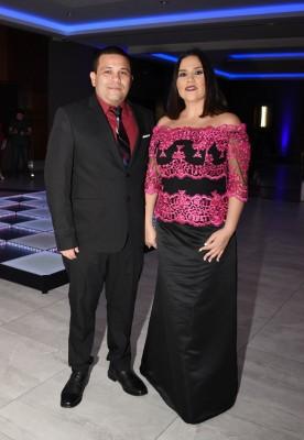 Roxana Espinal y Mario Castro