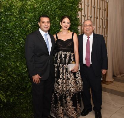 Samir Chahin y Heidi Siwady y Ricardo Siwady