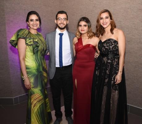 Silvia Zelaya, Reyniery Zelaya, Celeste Vargas y Victoria Vargas