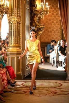 Una de las creaciones de Ágatha Ruiz de la Prada.