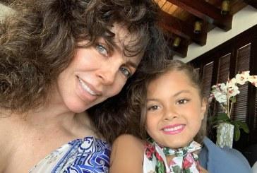Verónica Castro reaparece en redes presumiendo a la hija de Cristian Castro