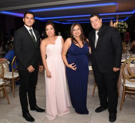 Virgilio Martínez, Frances Chiang, Adriana Rodríguez y Ronald Ventura
