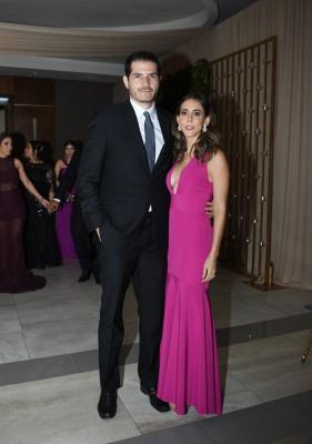 Viviana y Luis García de Quevedo