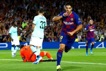 El Barcelona le gana al Inter 2-1 con un doblete de Luis Suárez