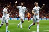 El Real Madrid logra revivir con una victoria ante el Galatasaray