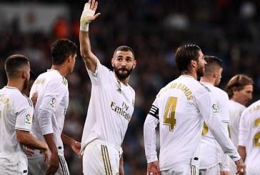 Real Madrid se colocó segundo provisional de la Liga española tras golear 5-0 al Leganés