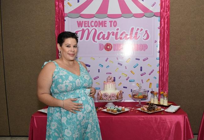 El irresistible baby shower de Ligia Monteilh
