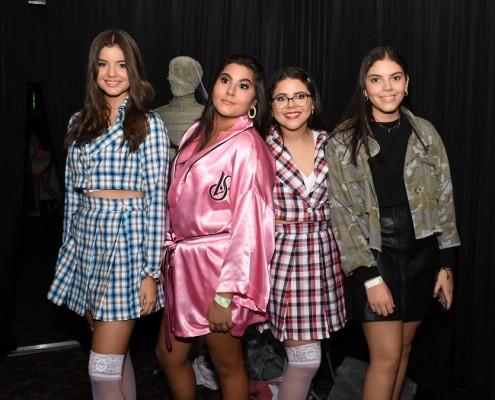 Ana Cabeza, Nicole Aplícano, Valeria Reyes y Lucía Yacaman