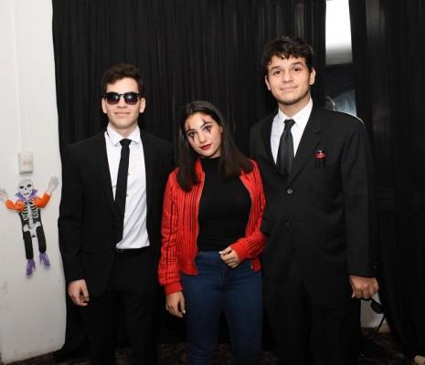 Andrés Leiva, María José Prieto y Stefano Micheletti