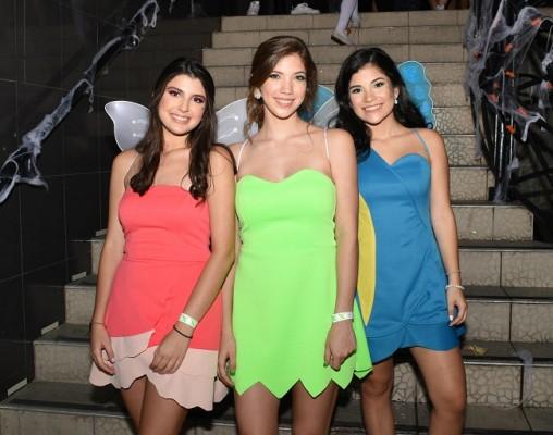 Andrea Murphy, Valeria Castillo y Nicole Ustariz