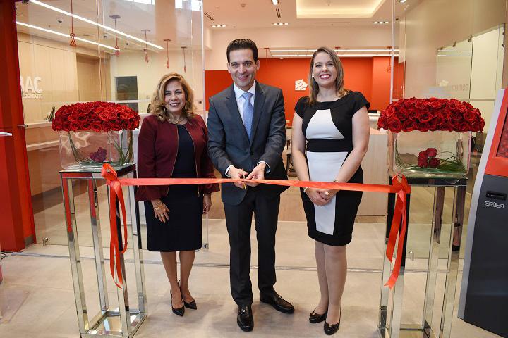Bac Credomatic inaugura moderna agencia con formato único en Mega Mall de San Pedro Sula