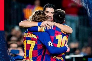 Barcelona venció 3-1 al Borussia Dortmund y clasificó a octavos de la UEFA Champions League