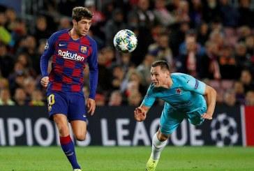 Barcelona no pasó del empate en el Camp Nou ante el Slavia Praga