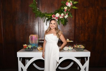Un bridal shower muy exclusivo para Claudia Robles