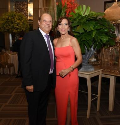Diana Larach y Roger Larach