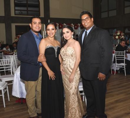 Edsel Bodden, Clarissa Barsayo, Thelma Santos y Samir Méndez