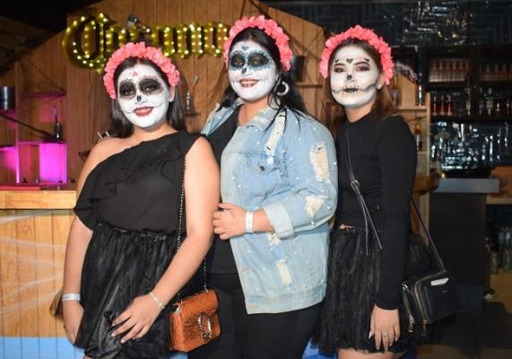 Elena Barralaga, Andrea Castro y Marisol Isaula.