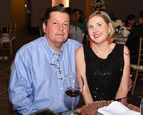 Hans Heyer y Sandra de Heyer