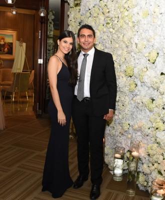 Heri Sarmiento y Carla Mandujano
