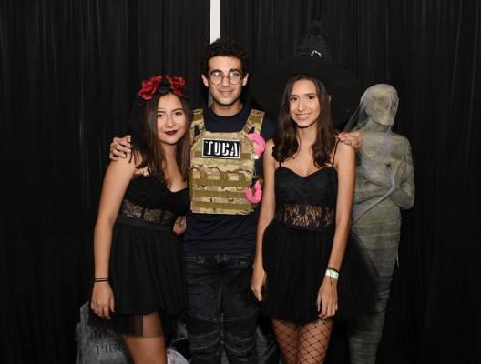 Isabela Andara, Yalil Yacaman y Mariana Ramírez