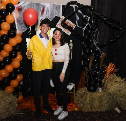 Issac Sandoval y Sharon Castillo