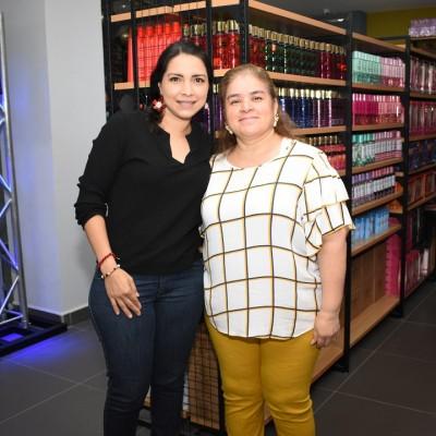 Janina de Garay y Alicia Franco